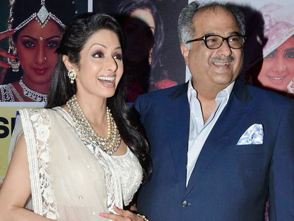 Boney's First Meeting With Sridevi