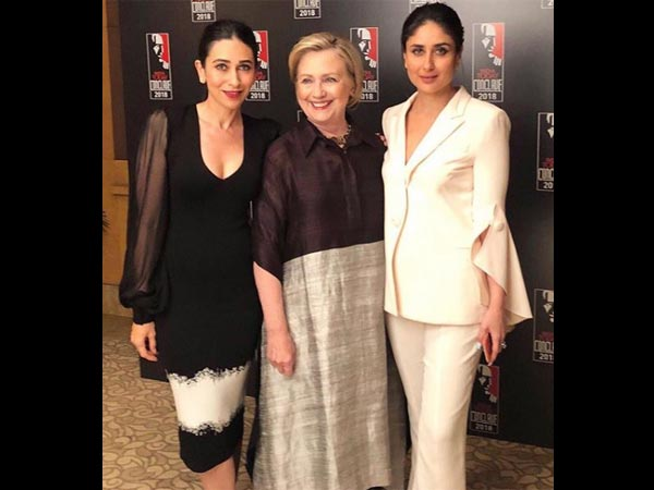 The Kapoor Sisters Meet Hillary Clinton