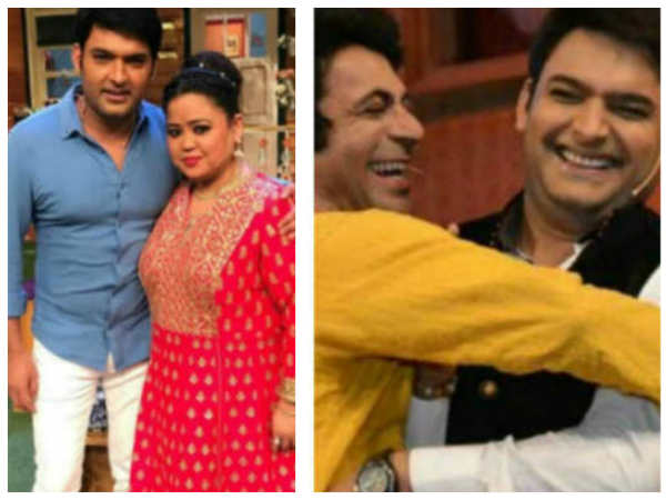 Bharti Singh Is Happy About Kapil's Return; Doesn't Want To Talk About Kapil & Sunil Twitter War
