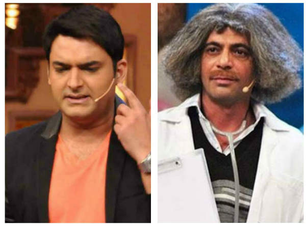 WHAT'S GOING ON! Kapil Sharma & Sunil Grover's Twitter War Gets DIRTIER!