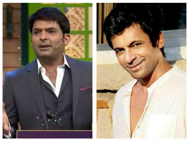 Sunil Is Worried About Kapil's Health!