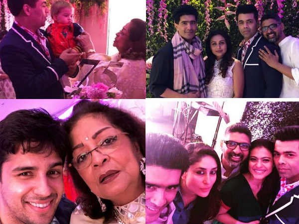INSIDE PICS! Kajol, Rani Mukherji, Kareena Kapoor Have A Blast At KJo's Birthday Bash For Mom Hiroo
