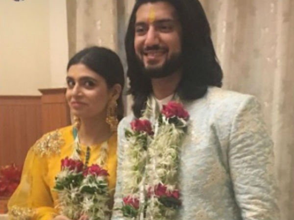 Kunal Jaisingh & Bharti Kumar Engaged In Iskcon Temple!