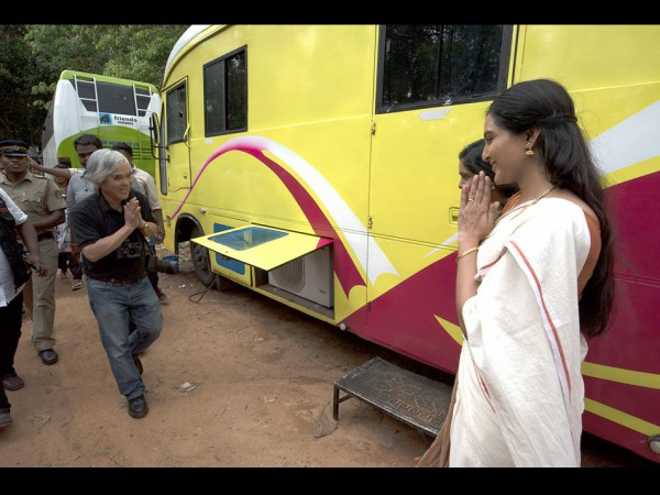 When Nick Ut Visited The Odiyan Sets!