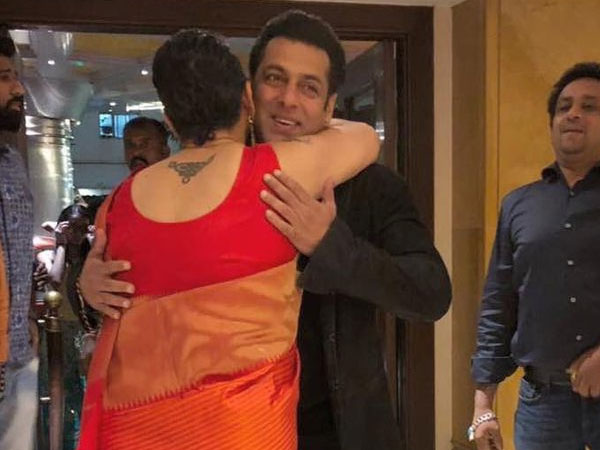 The Ever Smiling Salman