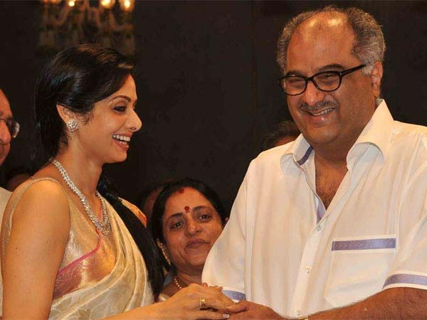 Boney Was Planning A Surprise For Sridevi