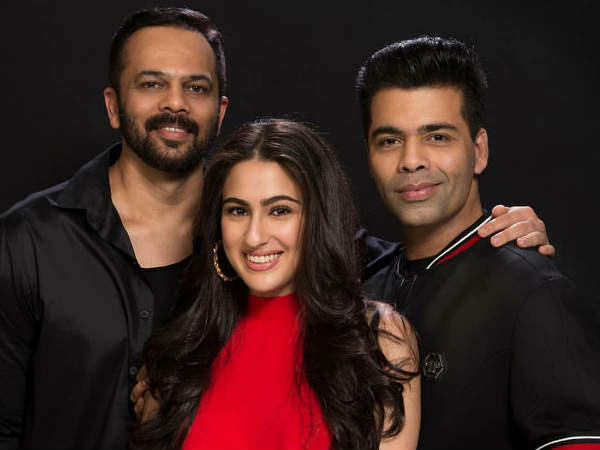 Sara Ali Khan is the Simmba girl