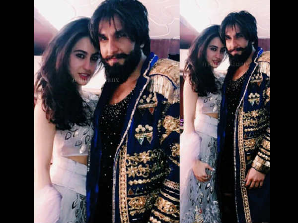 Revealed! Sara Ali Khan to star opposite Ranveer Singh in 'Simmba'