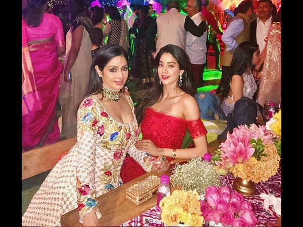 Janhvi sends her greetings to Madhuri Dixit Nene for signing Sridevi's film