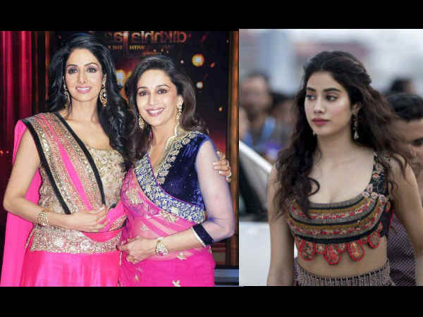 Janhvi announces Madhuri Dixit as her mom's replacement