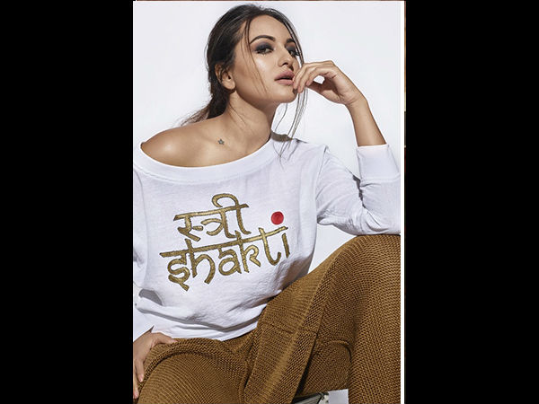 Sonakshi Sinha Says No To Male Bashing
