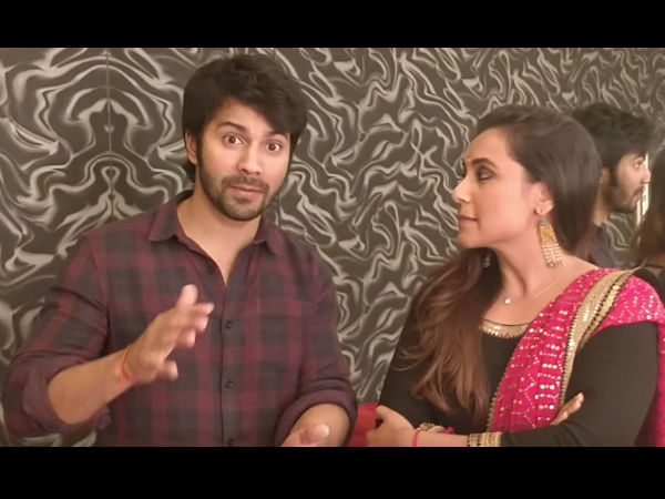 When Varun Faced 'Stage Fright'