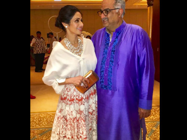 Sridevi Was Missing Her Hubby