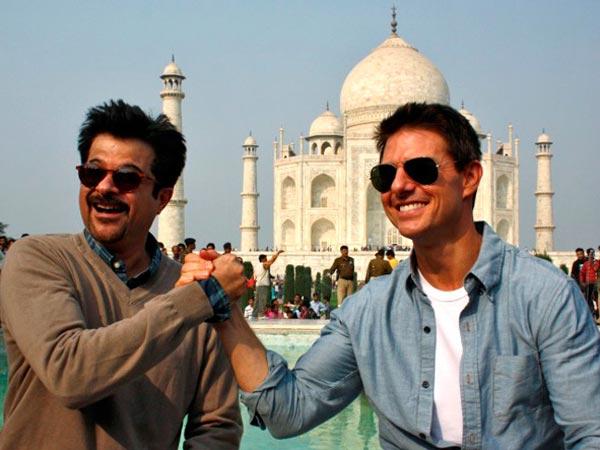 Anil Kapoor and Tom Cruise reunite in Abu Dhabi