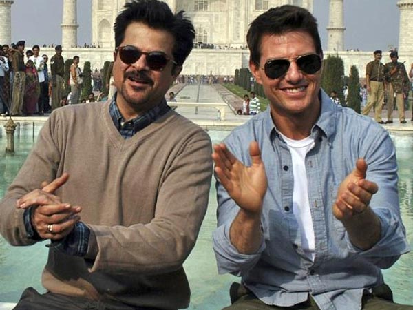 Anil Kapoor And Tom Cruise Have A Reunion In Abu Dhabi