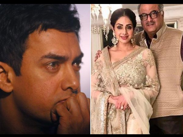 Aamir Deeply Disturbed By The Untimely Demise Of Sridevi