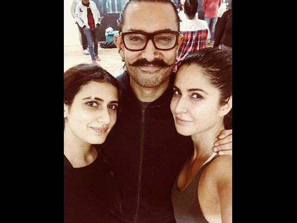 Thugs Of Hindostan: Is Katrina Kaif INSECURE of Fatima Sana Shaikh?!