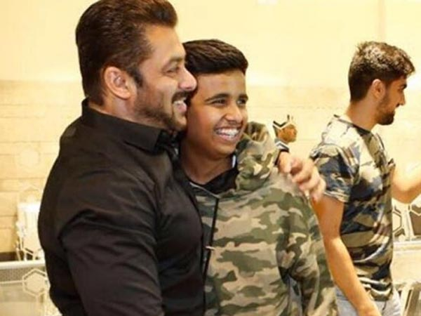 Rashed Thanks Salman For His Support