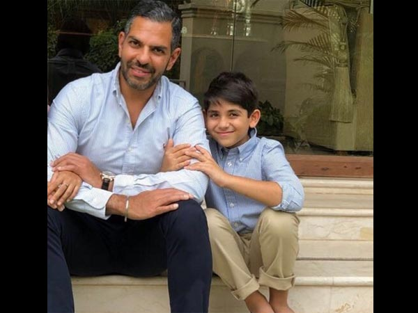 Karisma Kapoor & Sunjay Kapur's Son Kiaan Celebrates His 8th Birthday! View Pictures