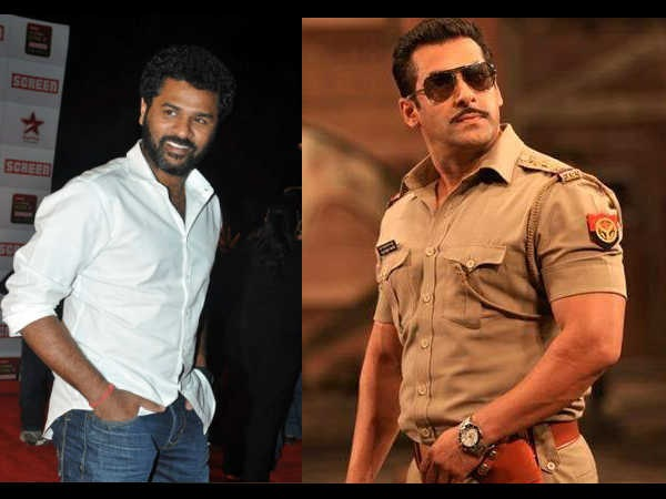Prabhudeva to direct Salman Khan