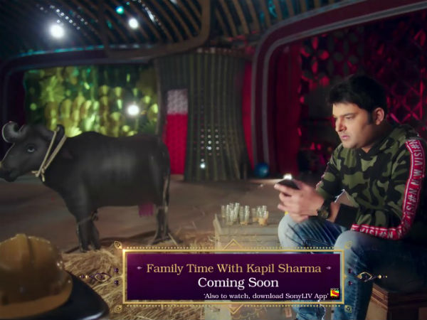 Kapil Sharma back with new comedy show 'Family Time with Kapil Sharma'