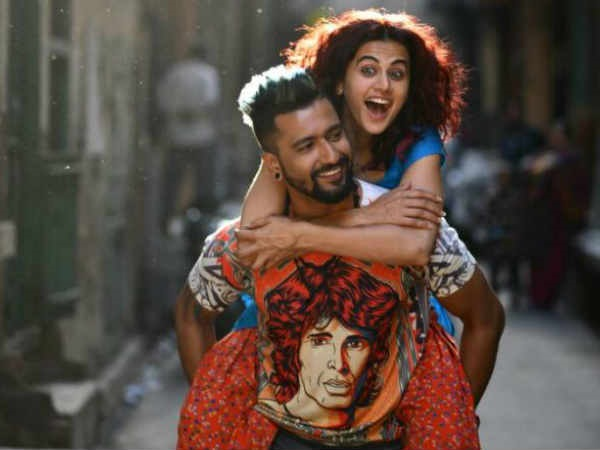 Big B appreciates Abhishek Bachchan's look in Manmarziyaan