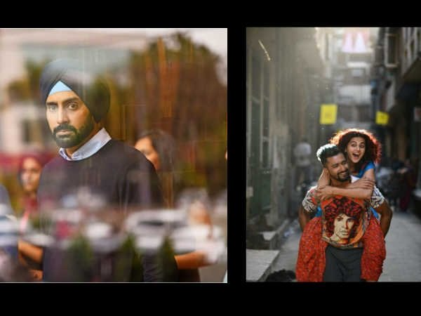 Manmarziyaan First Look! An Intense Abhishek Bachchan & Vicky Kaushal- Taapsee Pannu's Flirty Love