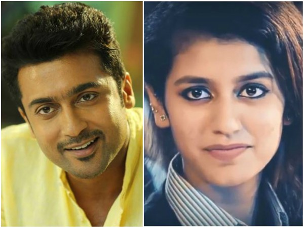 Is Priya Varrier A Part Of Suriya's Next Movie?