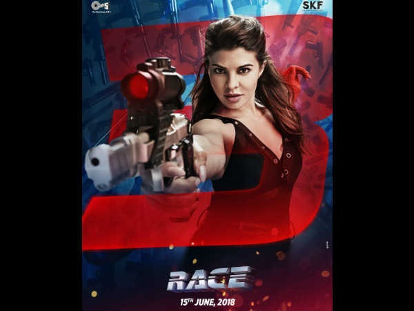 Race 3 poster: Is Jacqueline Fernandez threatening with a toy gun?