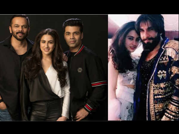 Simmba: Sara Ali Khan To Play Ranveer Singh's Love Interest, Here Comes The Official Announcement!