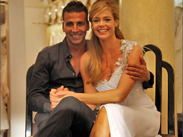 Akshay Romanced Denise Richards
