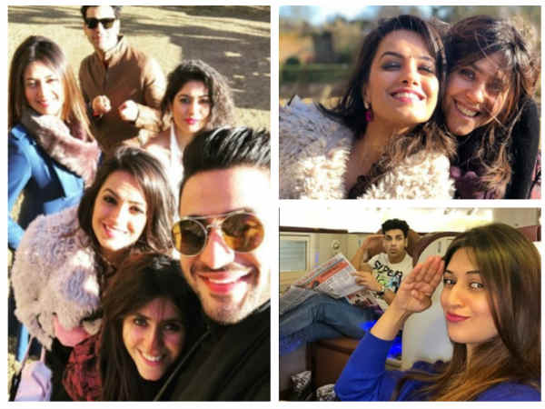 Yeh Hai Mohabbatein's Divyanka, Karan, Anita & Aly Are Having Fun With Ekta Kapoor In London!