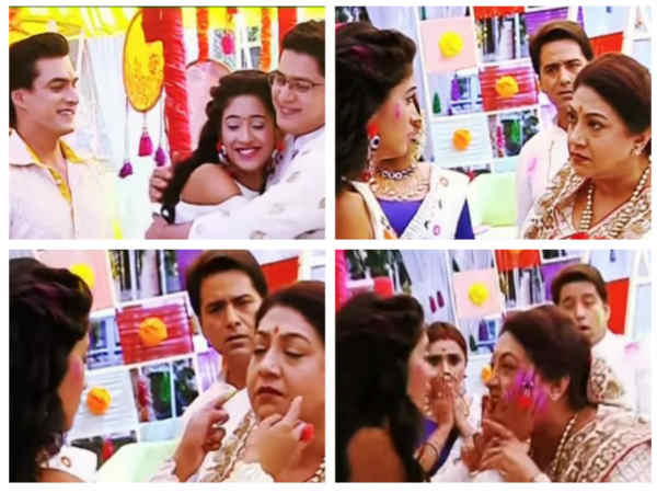Yeh Rishta Kya Kehlata Hai Holi Special: The Goenkas Celebrate Holi; Dadi Surprises Naira!