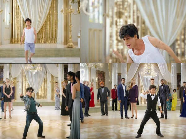 Shahrukh Khan Plays A Vertically Challenged