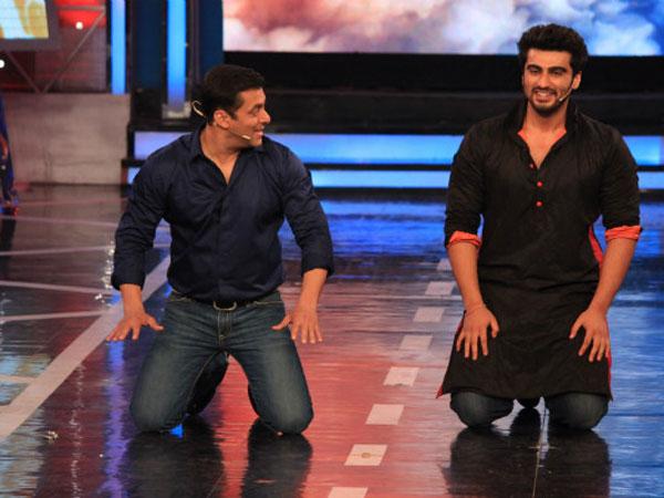 Will Salman Khan Forgive Arjun Kapoor, Arjun Extends Olive Branch To Salman, Arjun Kapoor Salman Khan Fight While He Was In Jail - FilmiBeat