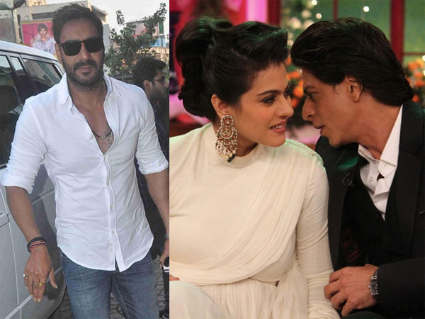 Did Ajay Devgn Really Stop Kajol From Working With Shahrukh Khan?