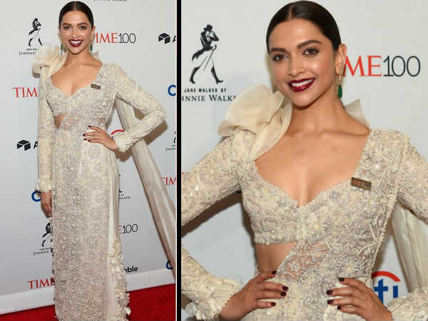 Deepika Padukone Looks Ravishing In White At The TIME 100 Gala & We Can't Stop Staring! PICS