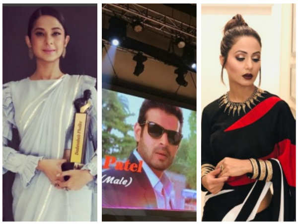 Jennifer Winget, Hina Khan, Karan Patel & Others Bag Dadasaheb Phalke Excellence Awards 2018 (PICS)