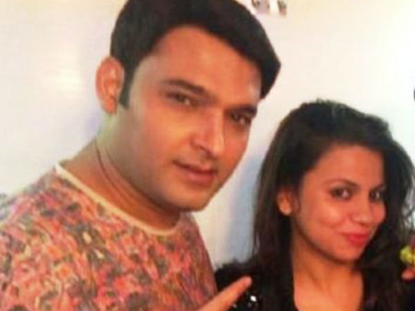 Has Kapil Written Preeti's Name On His Hand?