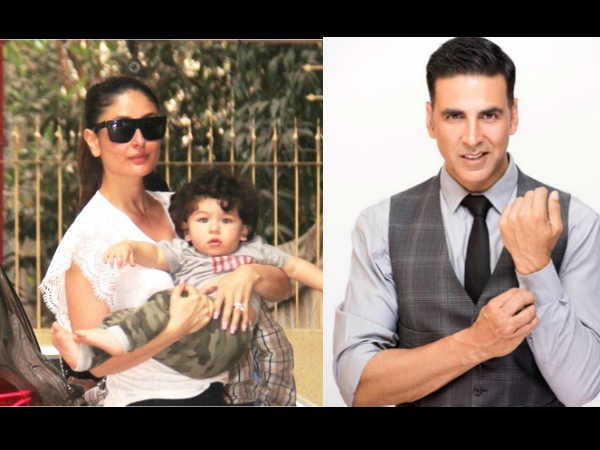 Kareena Feels Taimur Is A Threat To Akshay Kumar's Popularity