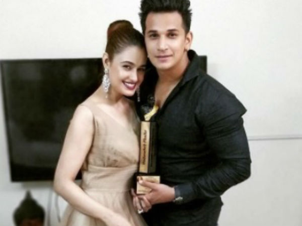 Prince Narula & Yuvik Choudhary Receives Best Couple of the Year Award