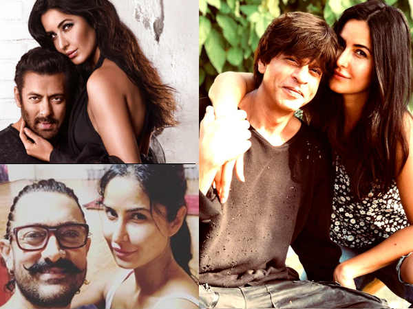 Katrina Kaif On Working With Shahrukh, Salman & Aamir Khan: They Can Only Help Me Become Better!