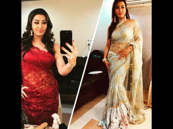 Shilpa Will Be Seen In Vibrant Coloured Sarees With Hot Blouses