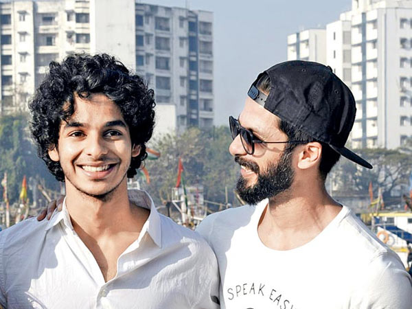 Shahid Kapoor Is An Inspiration Says Ishaan Khatter