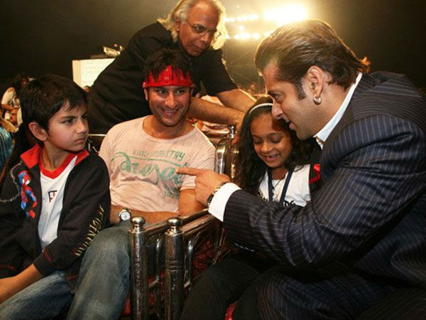 Saif On His Equation With Salman