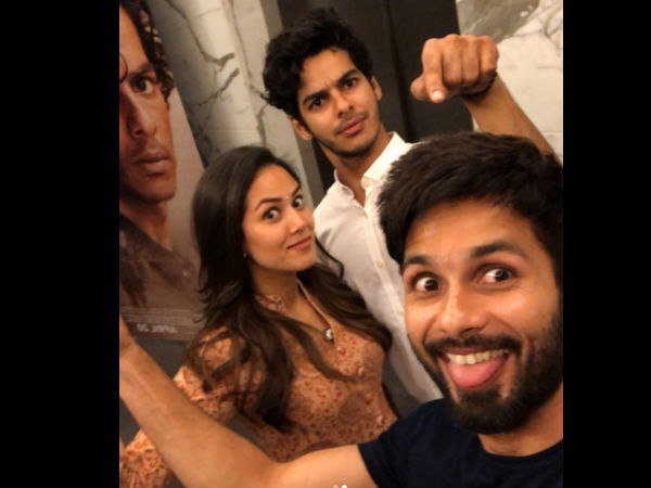 Shahid Was All Praise For Brother Ishaan