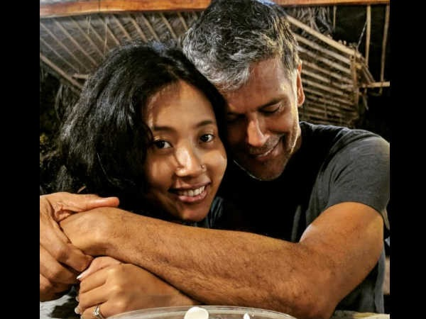 Milind Soman's Adorable Pic With GF Ankita Konwar Is A Perfect Reply To Their Break-Up Rumours!