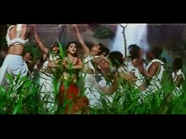 The Case Of Shahrukh Missing During The Waterfall Portion In The Song