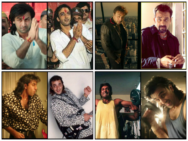 Fans Find Exact Matches Of Sanjay Dutt's Real Pics To Compare Ranbir Kapoor's Looks In Sanju Teaser