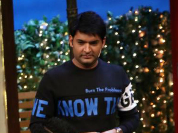 Kapil Expresses Anger With Gaalis!